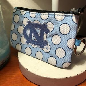 UNC Keychain and ID Case